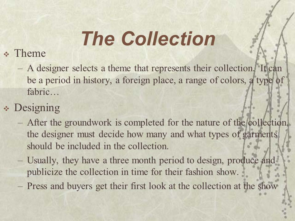 The Collection Theme Designing