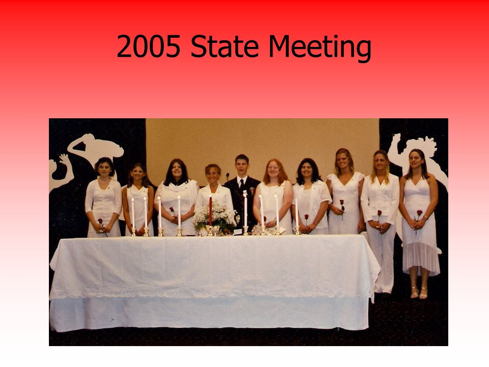 2005 State Meeting