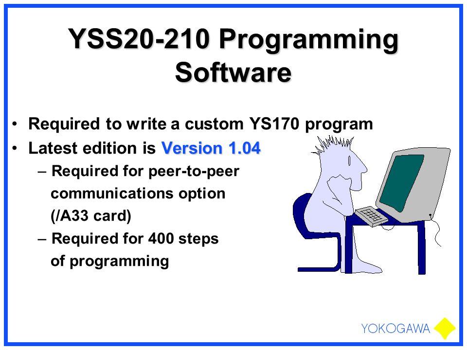 YSS20-210 Programming Software