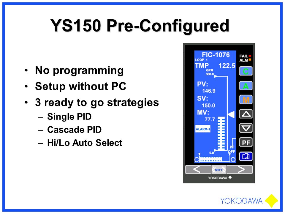 YS150 Pre-Configured No programming Setup without PC