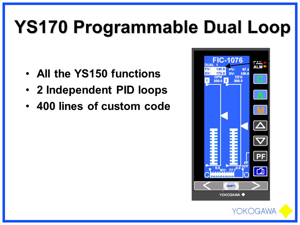 YS170 Programmable Dual Loop
