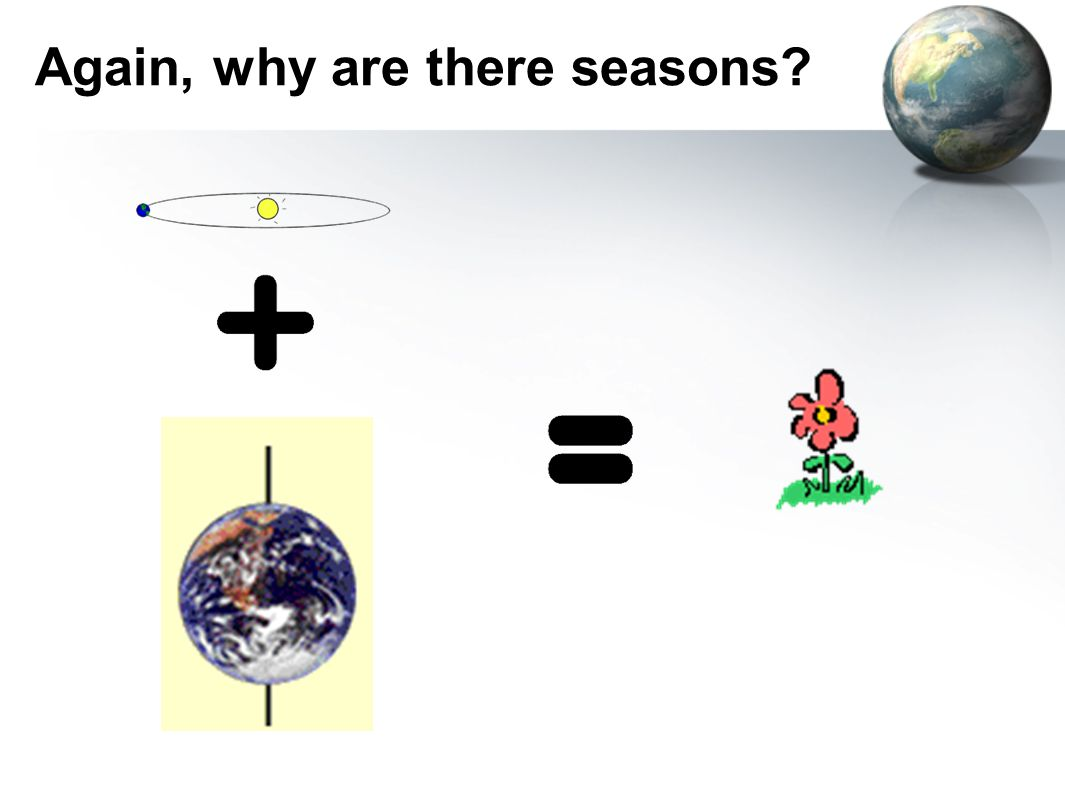 Again, why are there seasons