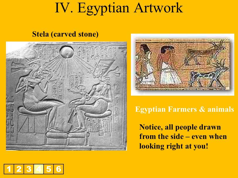 Egyptian Farmers & animals