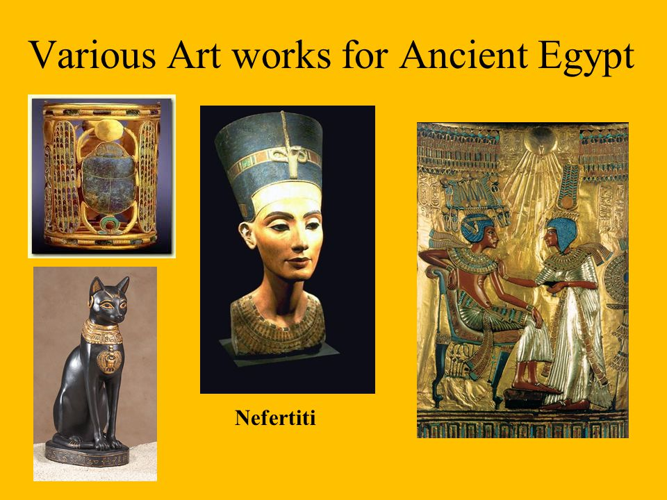 Various Art works for Ancient Egypt