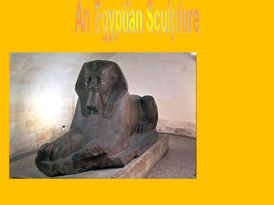 An Egyptian Sculpture