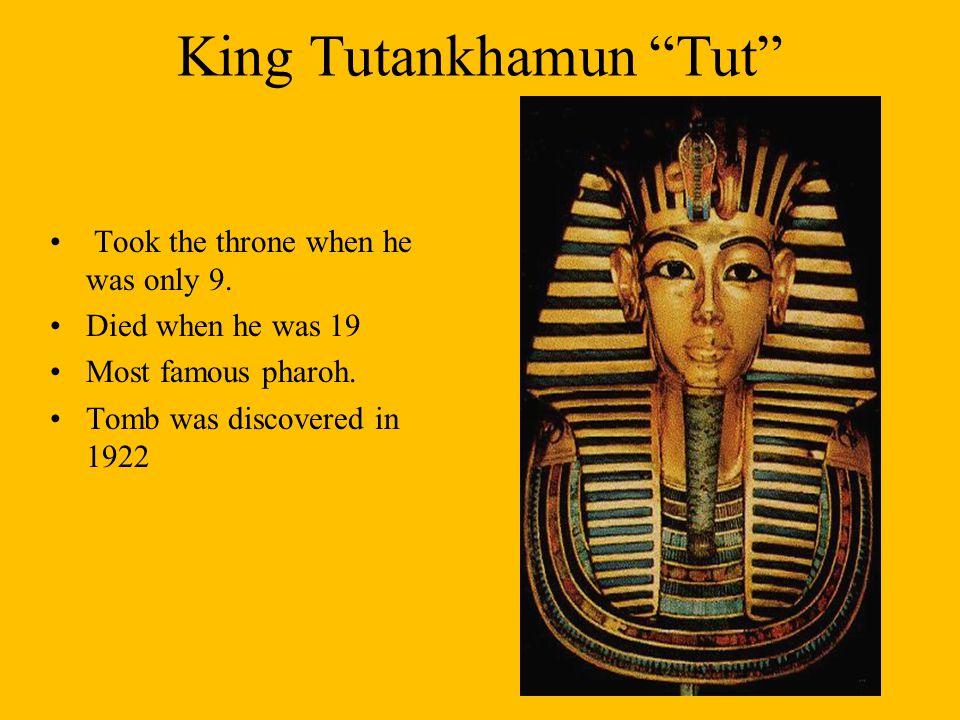 King Tutankhamun Tut