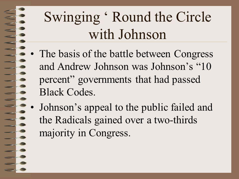 Swinging ' Round the Circle with Johnson