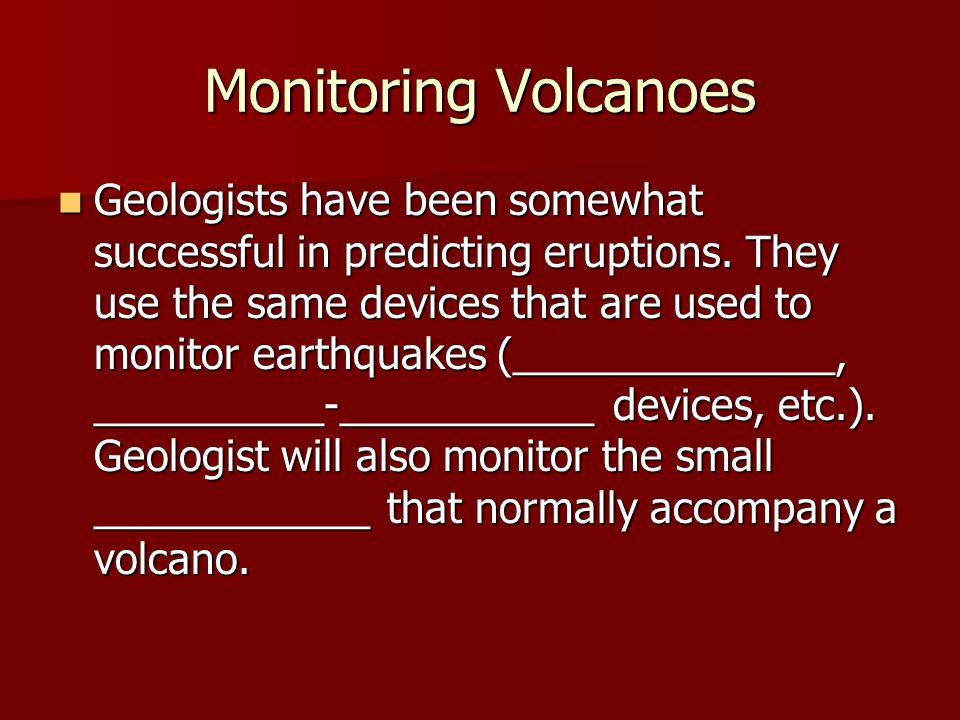 Monitoring Volcanoes