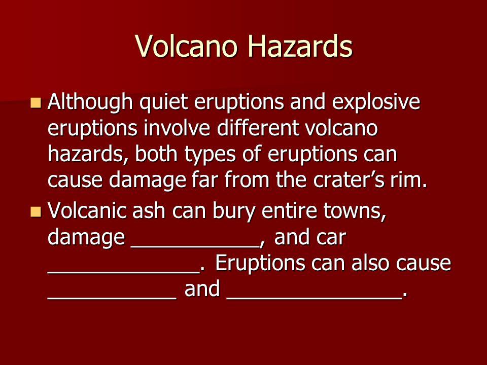 Volcano Hazards