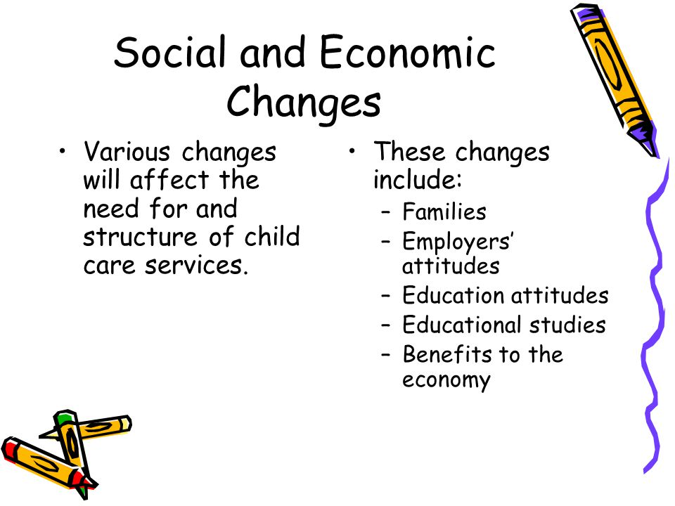 Social and Economic Changes