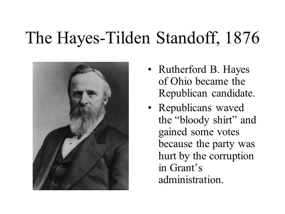 The Hayes-Tilden Standoff, 1876