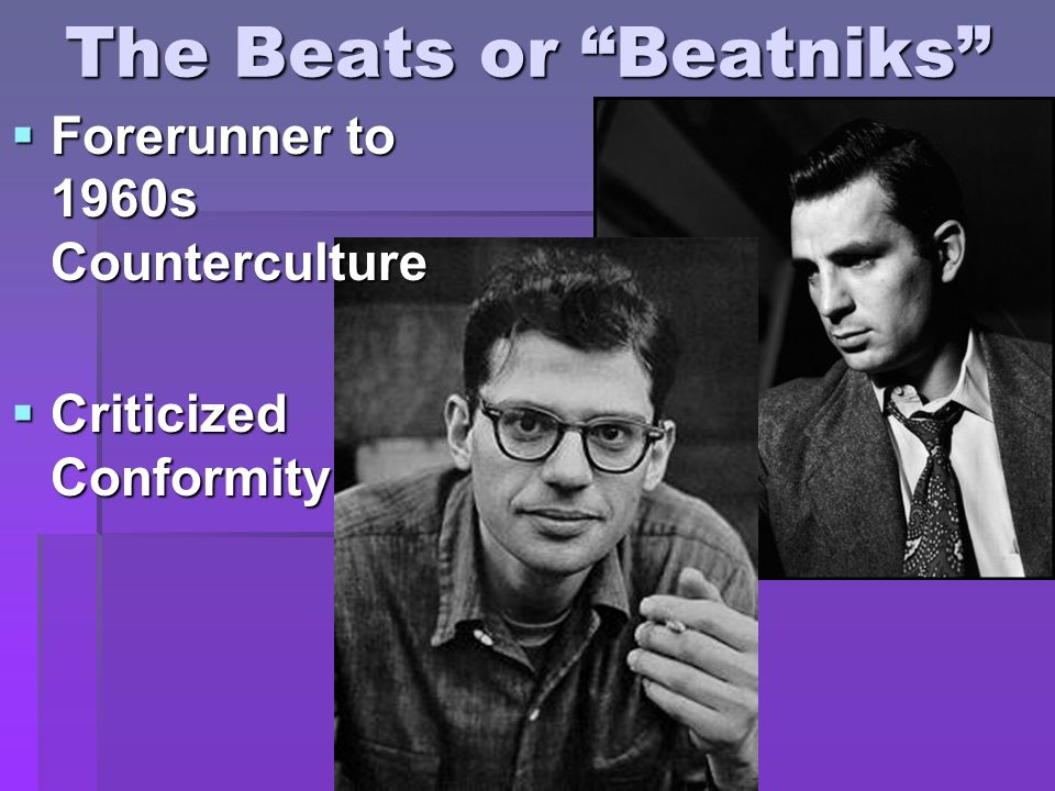 The Beats or Beatniks