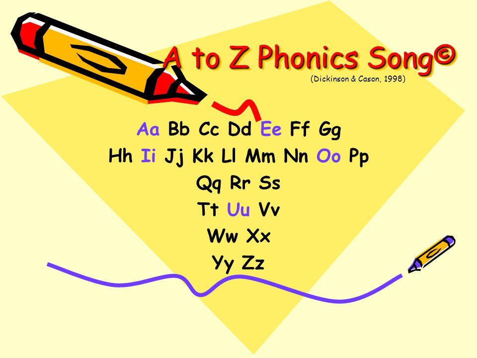 A to Z Phonics Song© Aa Bb Cc Dd Ee Ff Gg Hh Ii Jj Kk Ll Mm Nn Oo Pp