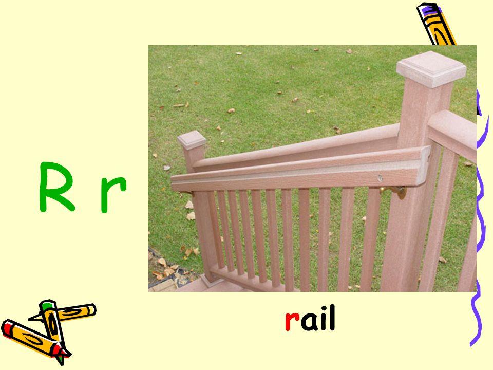 R r rail