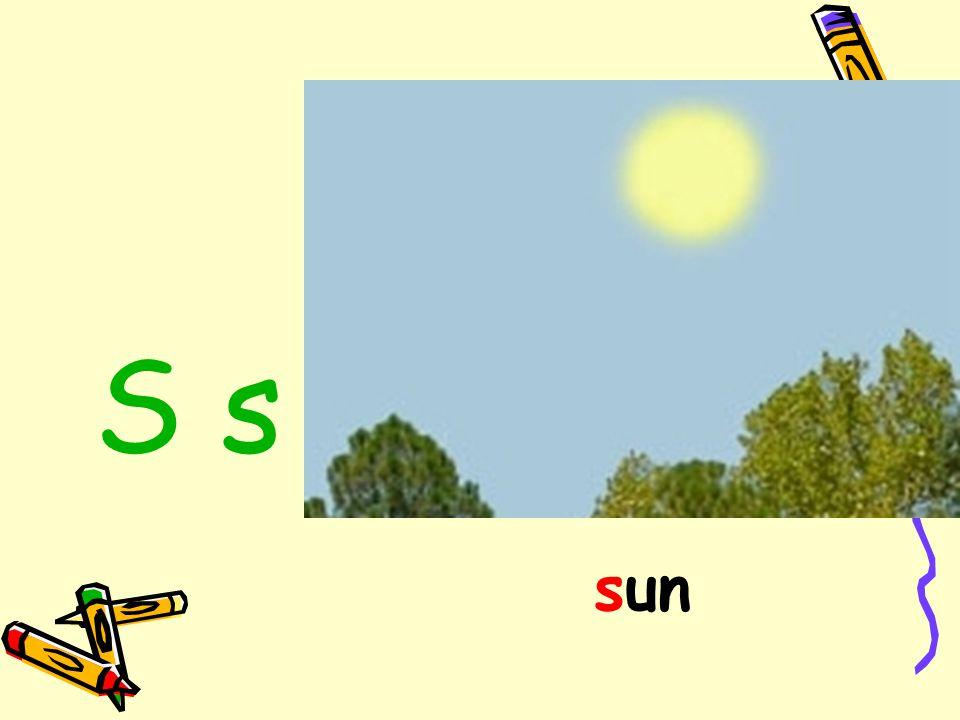 S s sun