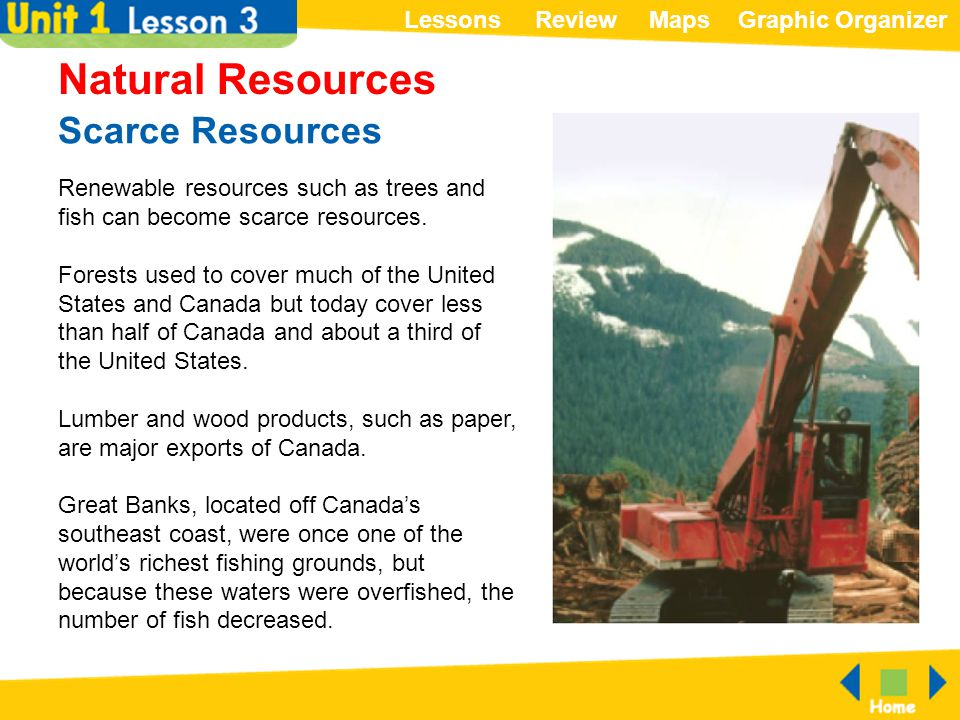 Natural Resources Scarce Resources
