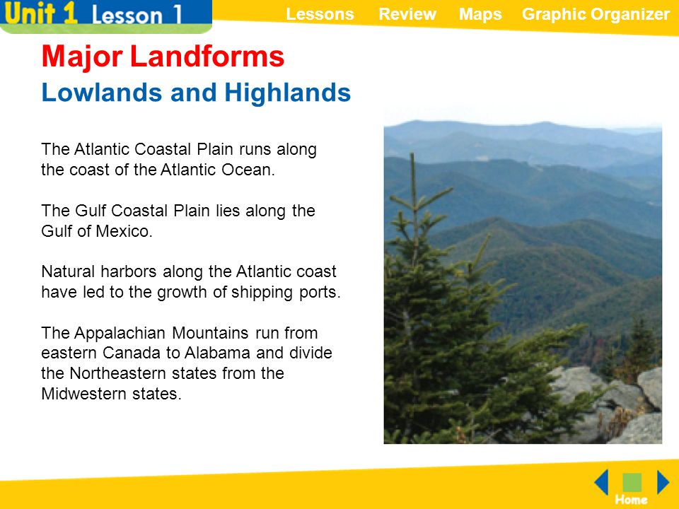 Lowlands and Highlands