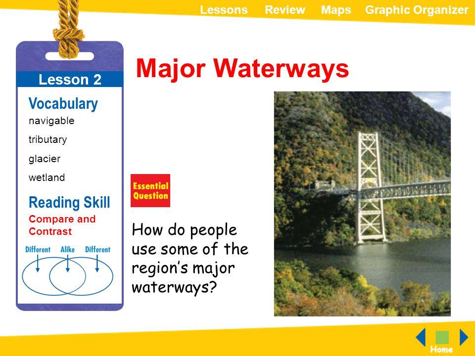 Major Waterways Vocabulary Reading Skill