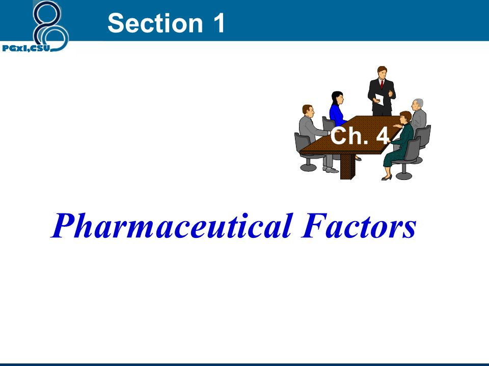 Pharmaceutical Factors