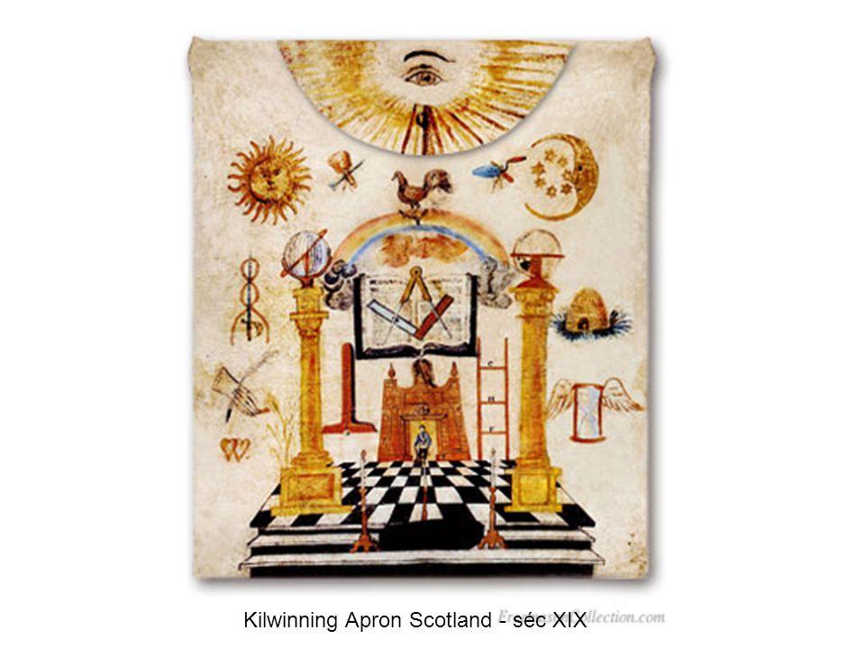 Kilwinning Apron Scotland - séc XIX