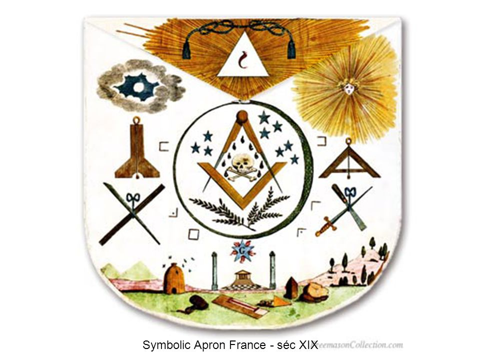 Symbolic Apron France - séc XIX