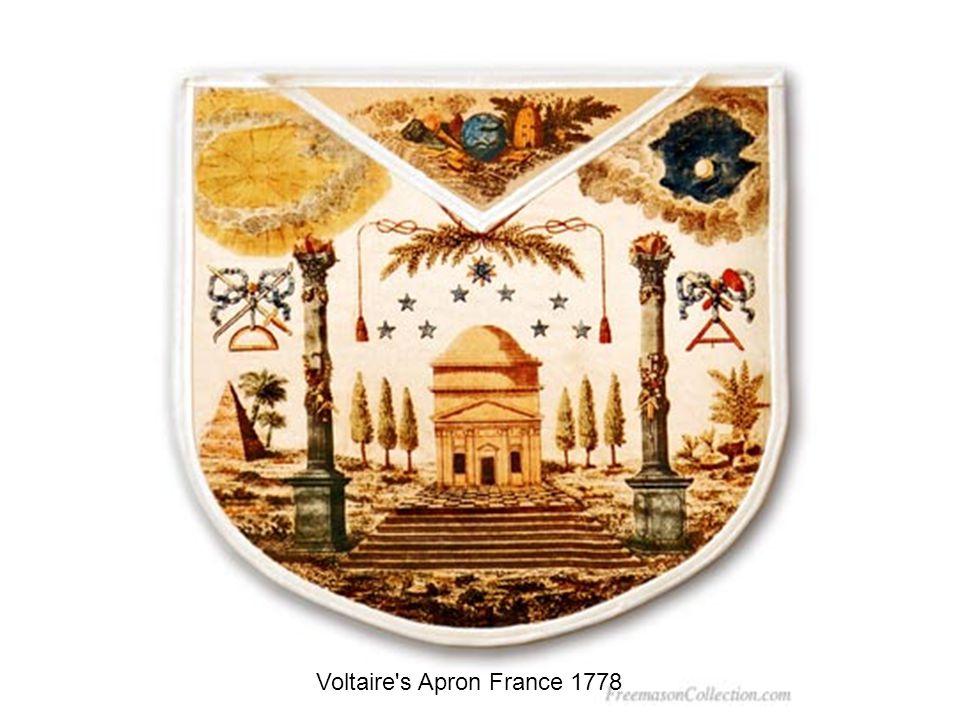 Voltaire s Apron France 1778