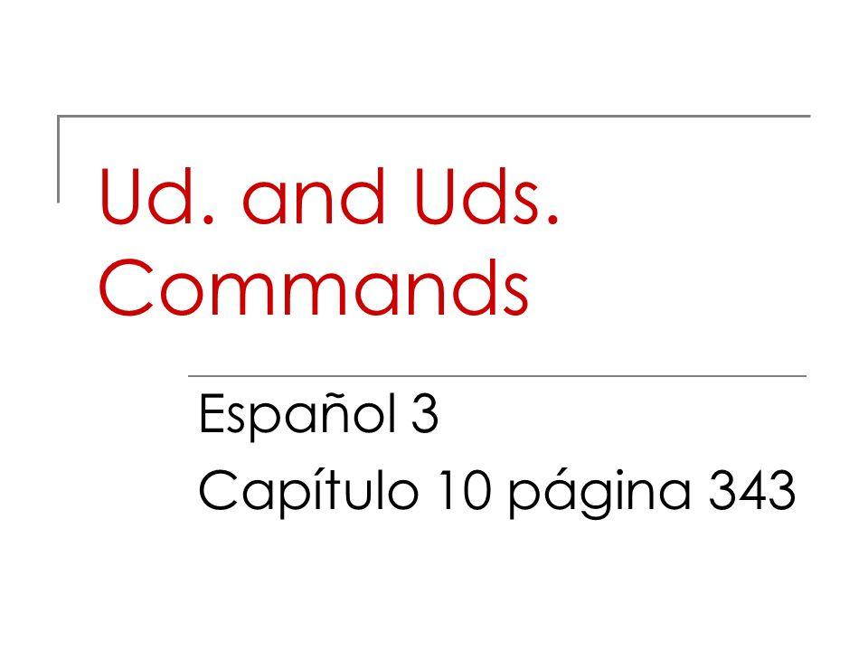 Español 3 Capítulo 10 página 343