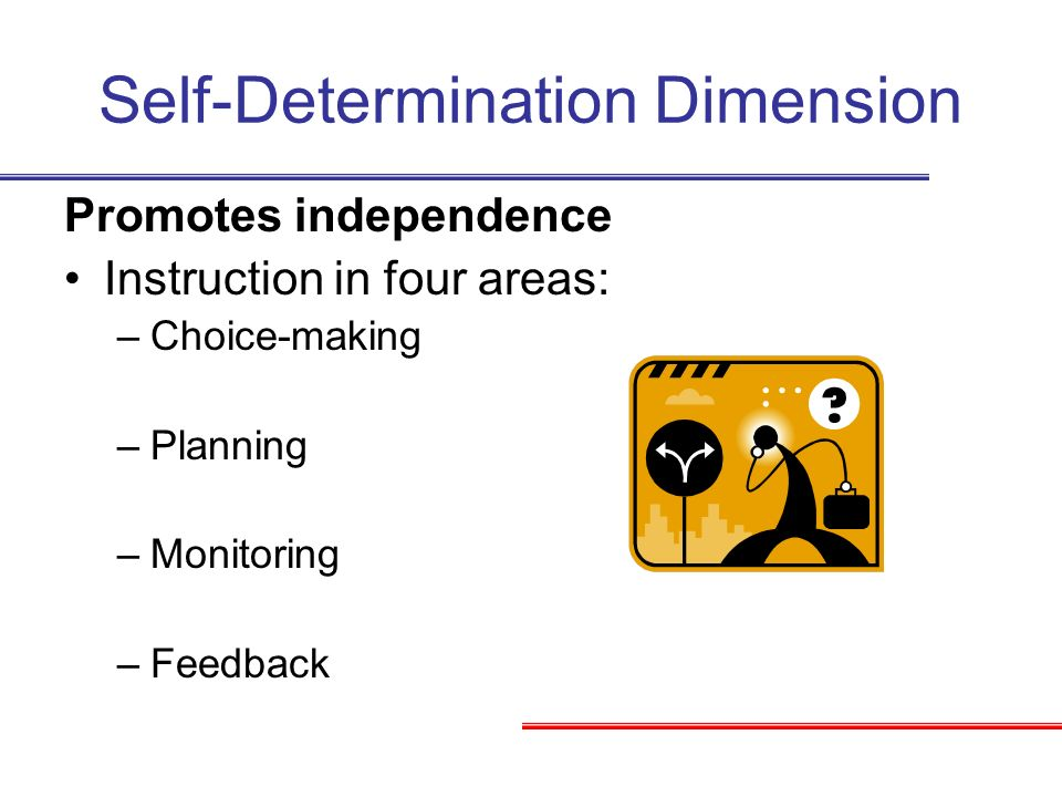 Self-Determination Dimension