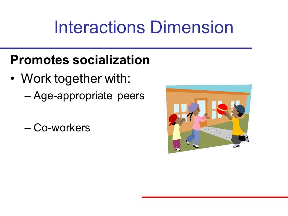 Interactions Dimension