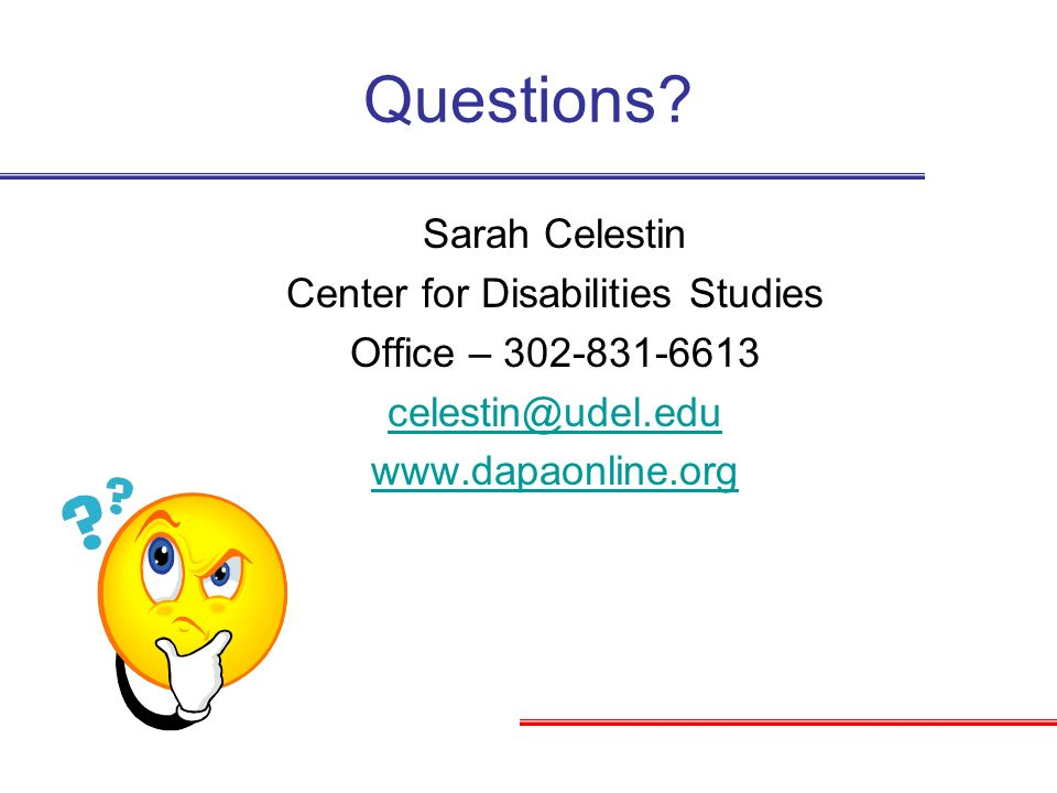 Center for Disabilities Studies