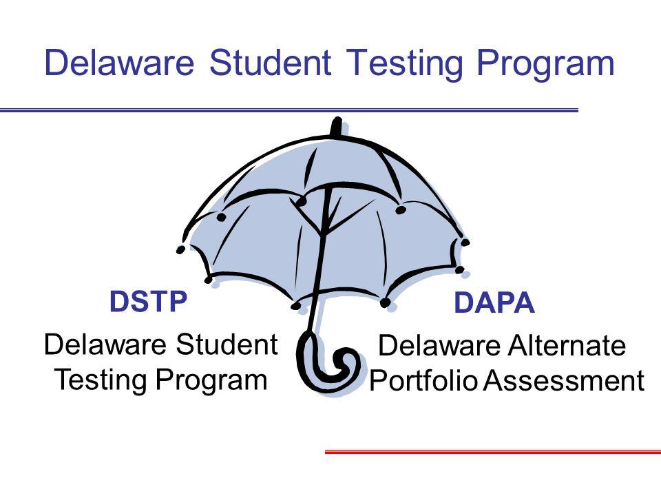 Delaware Student Testing Program