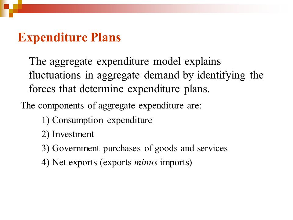 Expenditure Plans