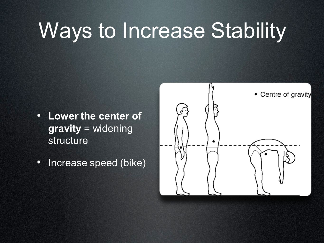 Ways to Increase Stability