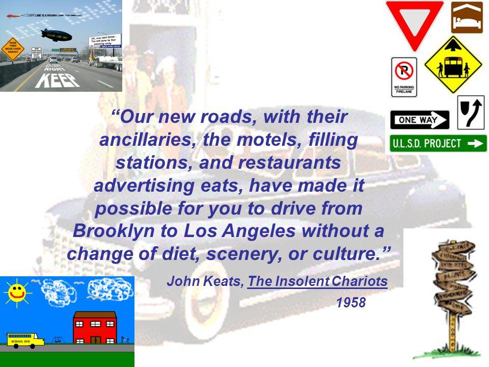 John Keats, The Insolent Chariots 1958