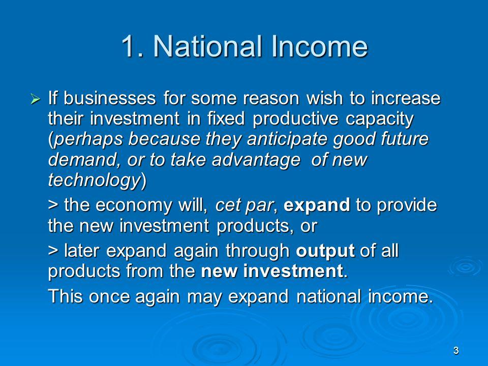 1. National Income