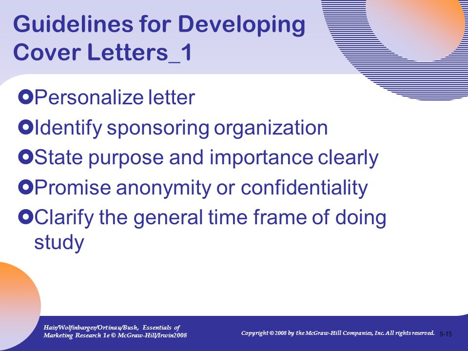 Guidelines for Developing Cover Letters_1