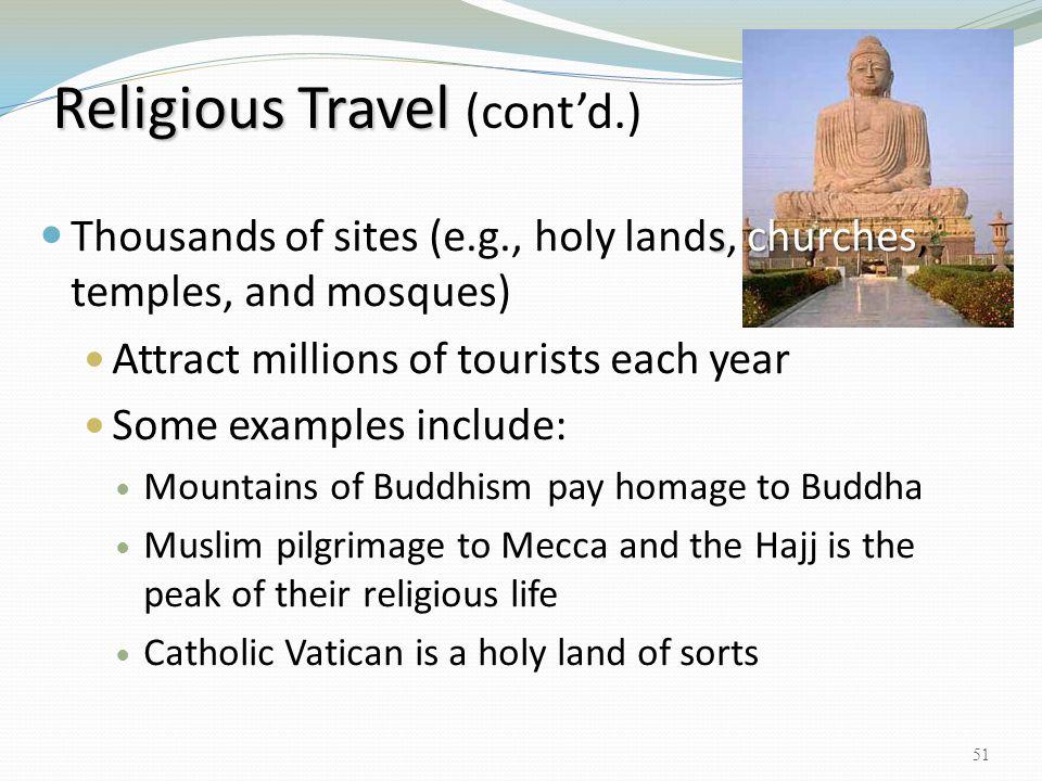 Religious Travel (cont'd.)