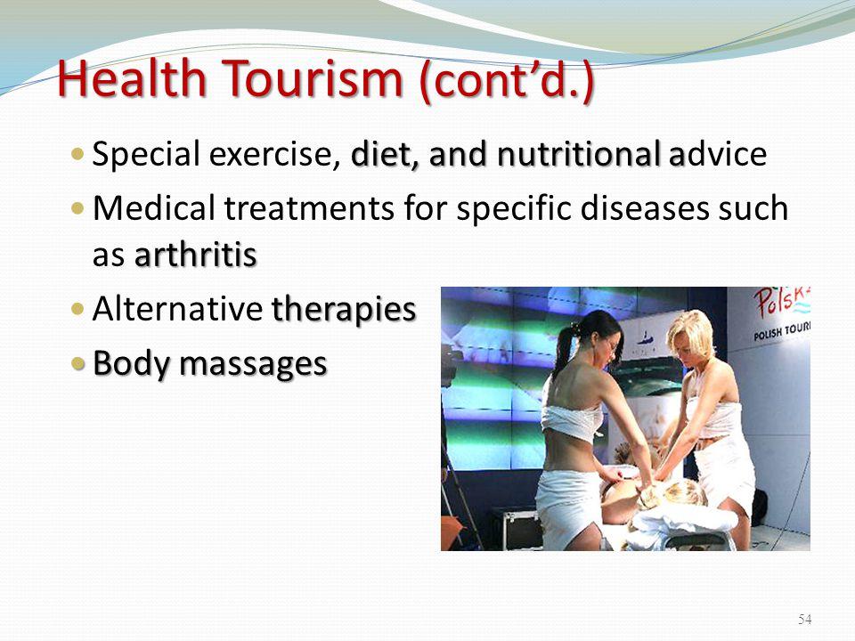 Health Tourism (cont'd.)