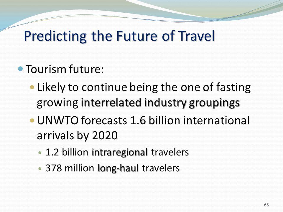 Predicting the Future of Travel