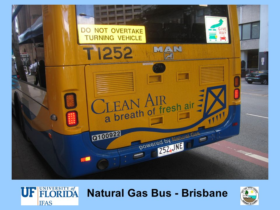 Natural Gas Bus - Brisbane