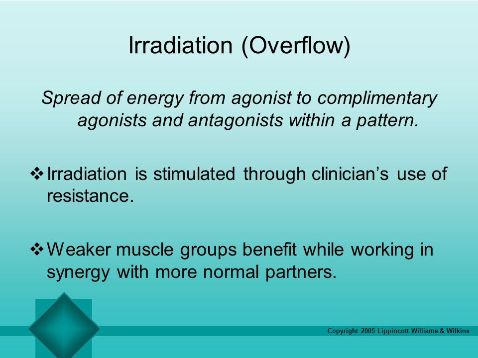 Irradiation (Overflow)