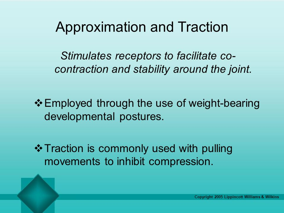 Approximation and Traction