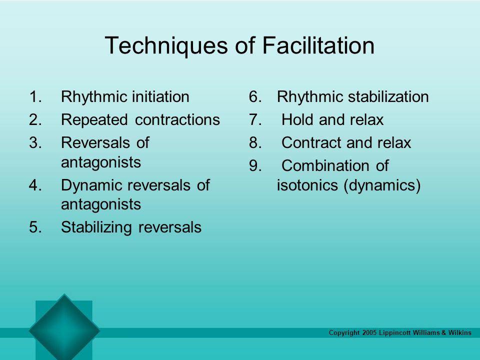 Techniques of Facilitation