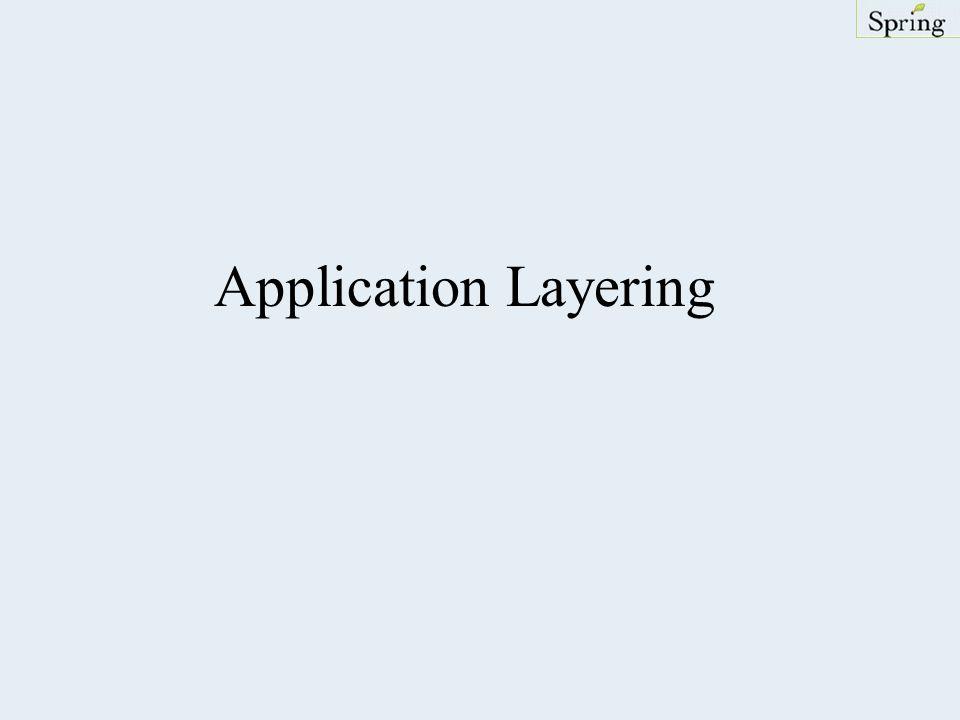 Application Layering