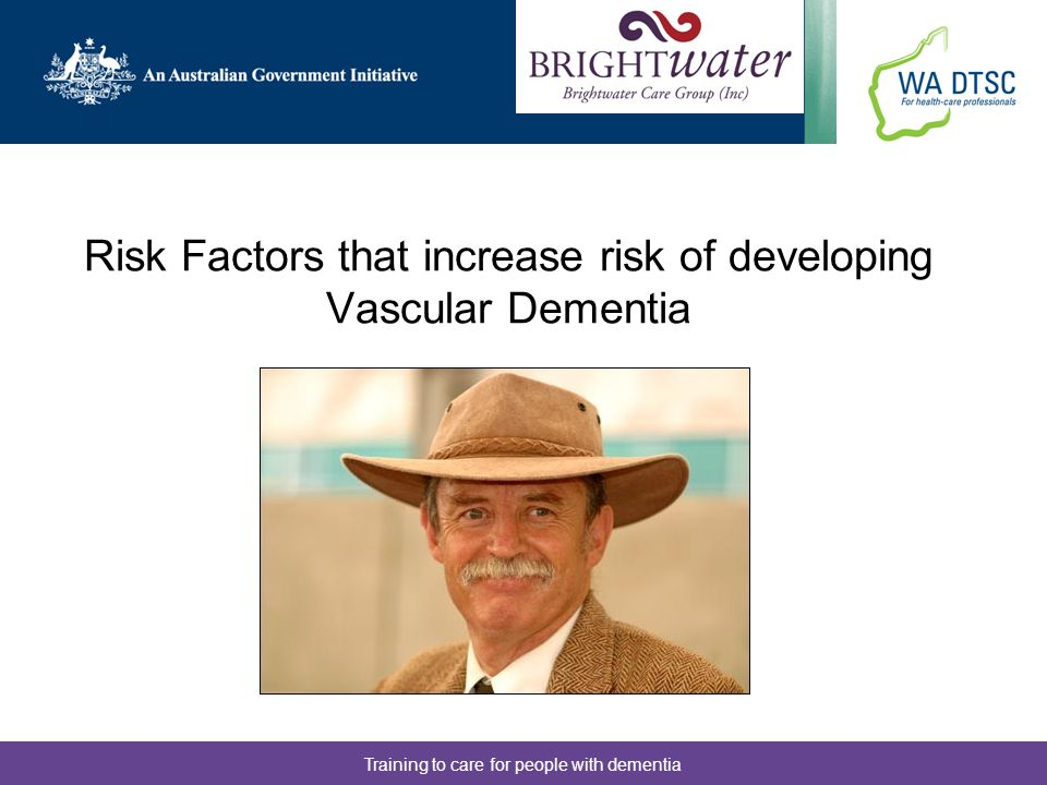 Risk Factors that increase risk of developing Vascular Dementia