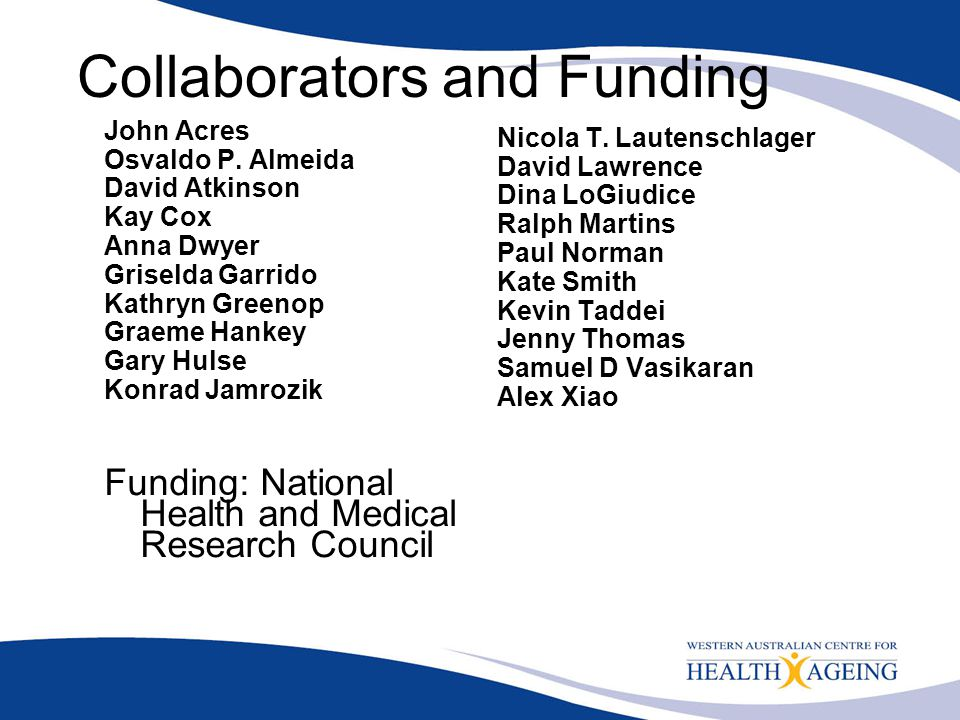 Collaborators and Funding