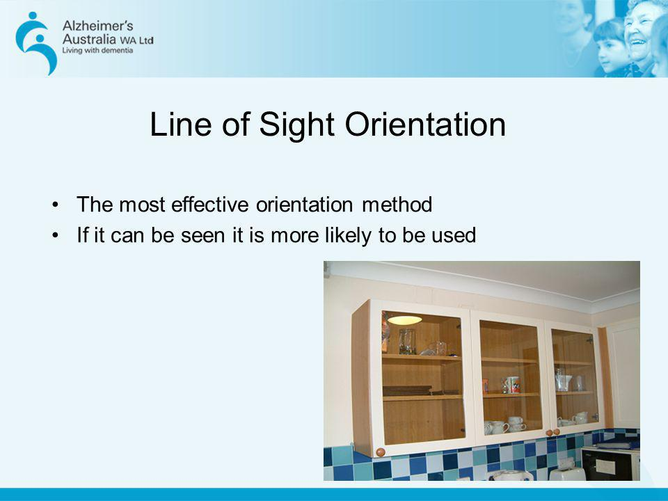 Line of Sight Orientation