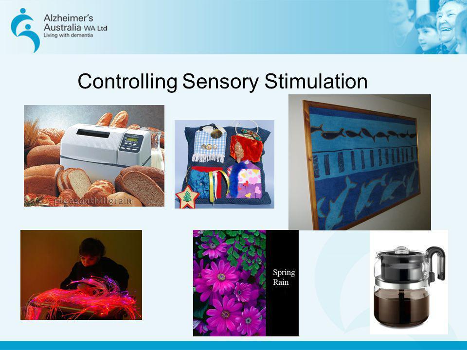 Controlling Sensory Stimulation