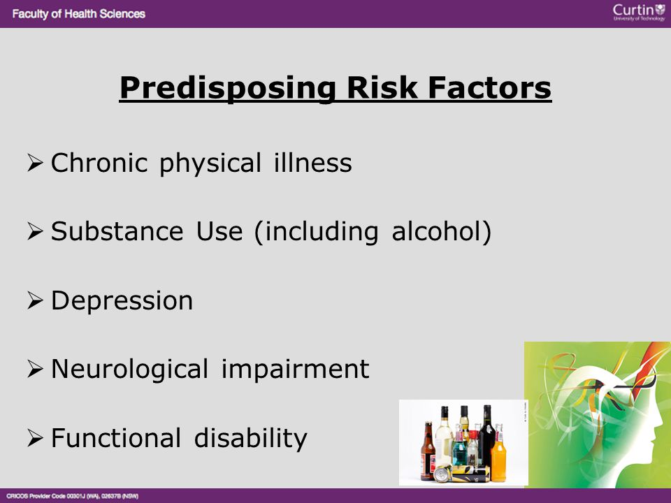 Predisposing Risk Factors