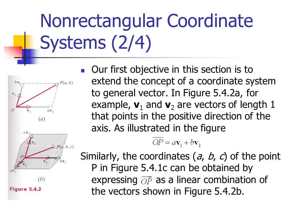 Nonrectangular Coordinate Systems (2/4)